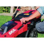 SKIL PwrCore 20V Brushless Push Lawn Mower with Two 4.0 Ah Batteries and Dual Port Charger Image 4
