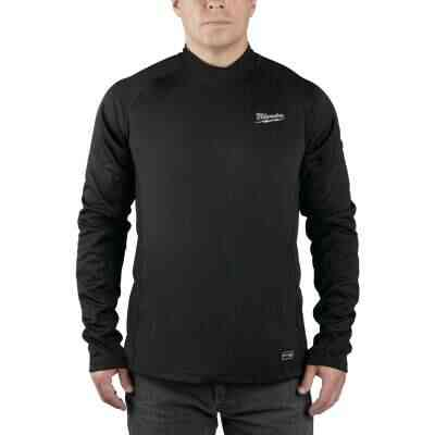 Milwaukee Workskin 2XL Black Heated Midweight Base Layer Shirt