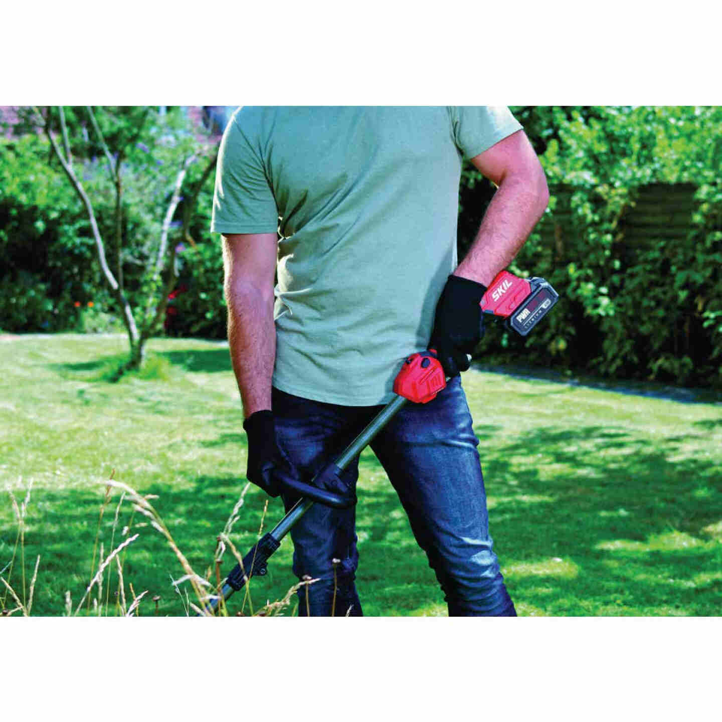 SKIL PWRCore 20V Brushless 13 In. Cordless String Trimmer Image 4