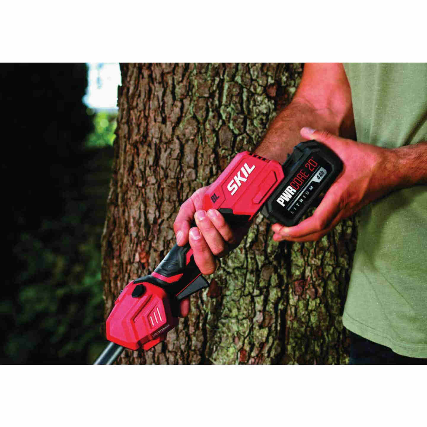 SKIL PWRCore 20V Brushless 13 In. Cordless String Trimmer Image 3