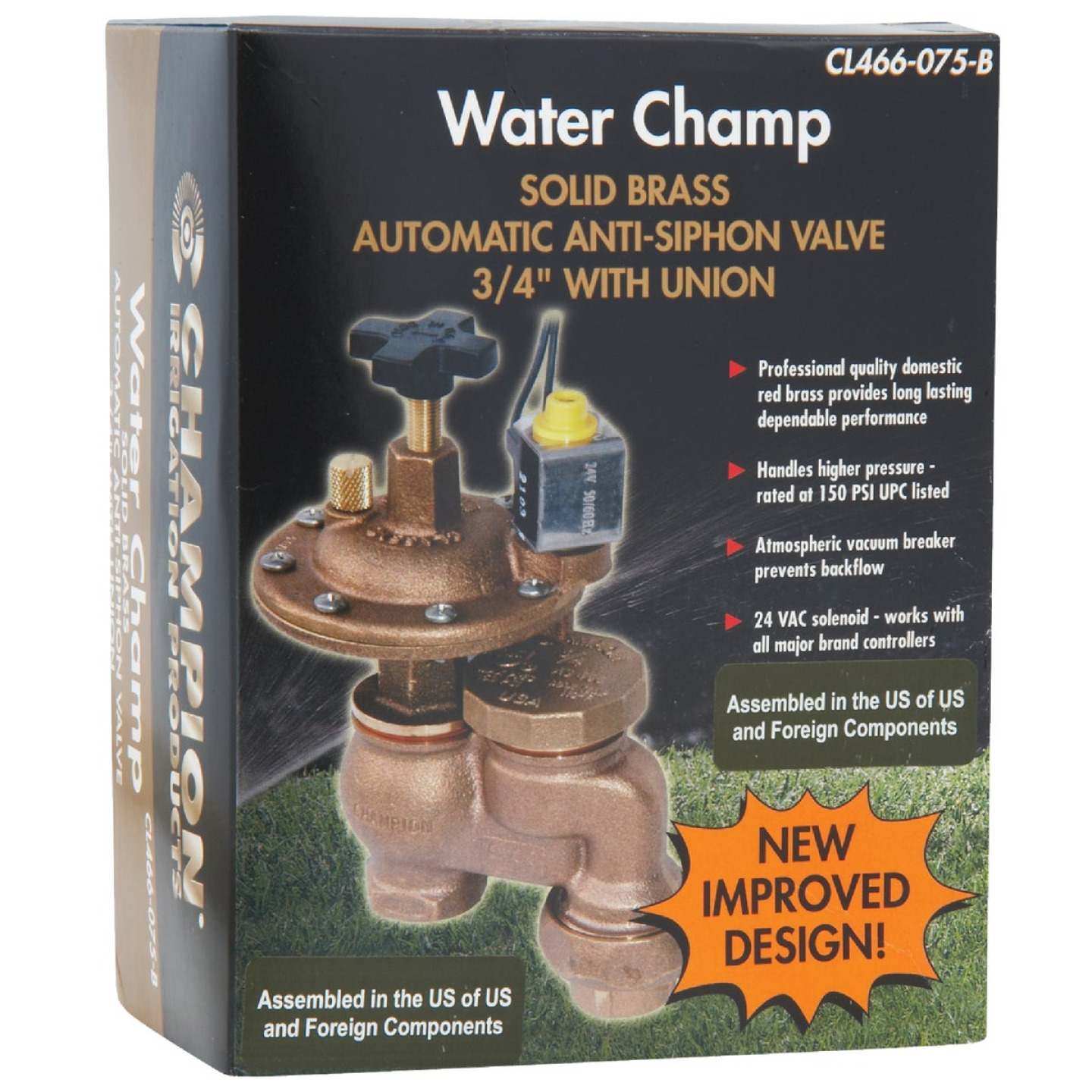 Champion 3 4 In 25 To 150 Psi Automatic Anti Siphon Valve Josephs Hardware Home Center