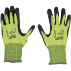 Milwaukee Men's Medium Cut Level 4 High Vis Nitrile Dipped Glove Image 4