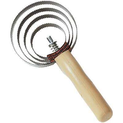 Decker Reversible Spiral Steel Curry Comb