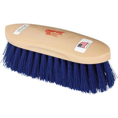 Decker Crimped Synthetic Bristles 2 In. Trim Size Medium Soft Grooming Brush