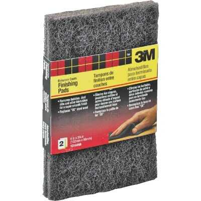 3M 3-7/8 In. x 6 In. Finishing Pad (2-Pack)