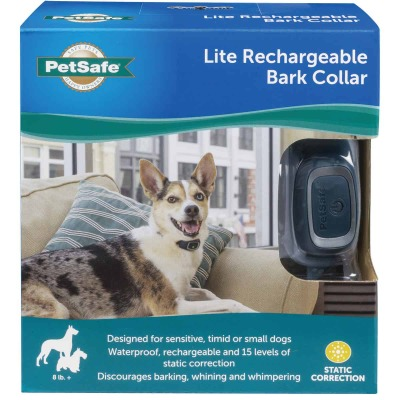 Petsafe Lite 3V Black Little Dog Bark Control Collar
