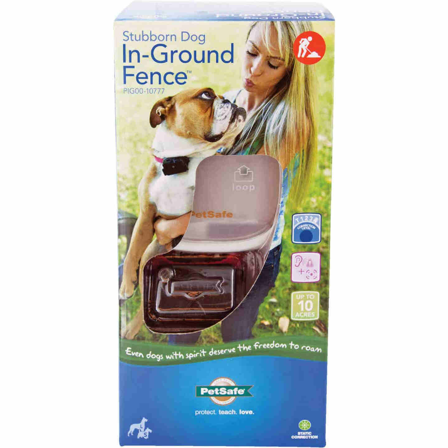 Petsafe Stubborn Dog In-Ground Up to 10-Acre Radio Fence Image 1