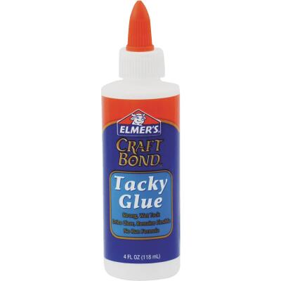 Elmer's Craft Bond 4 Oz. Clear Drying Tacky Glue